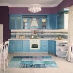 Купить кухню из массива ясеня Milana