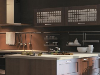 кухни в Гомеле из массива ольхи, Country
