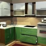 угловые кухни, Alva_gloss