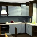 угловые кухни, Alva_matt 22