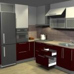угловые кухни, Alva_matt