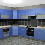 угловые кухни, Alva Gloss 3