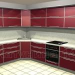 угловые кухни, Manhatan matt