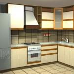 угловые кухни, Viva Lait