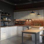 Купить кухню из ламинированного дсп Mirella