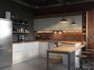 кухни в Гомеле из ламинированного дсп, Mirella