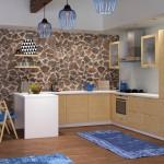Купить кухню из массива дуба Laiva