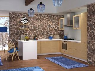 кухни в Гомеле из массива ясеня, Laiva