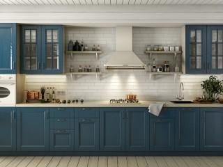 кухни в Гомеле из массива ясеня, lavanda