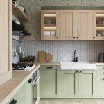 кухня в Гомеле из массива дуба Talvi 1