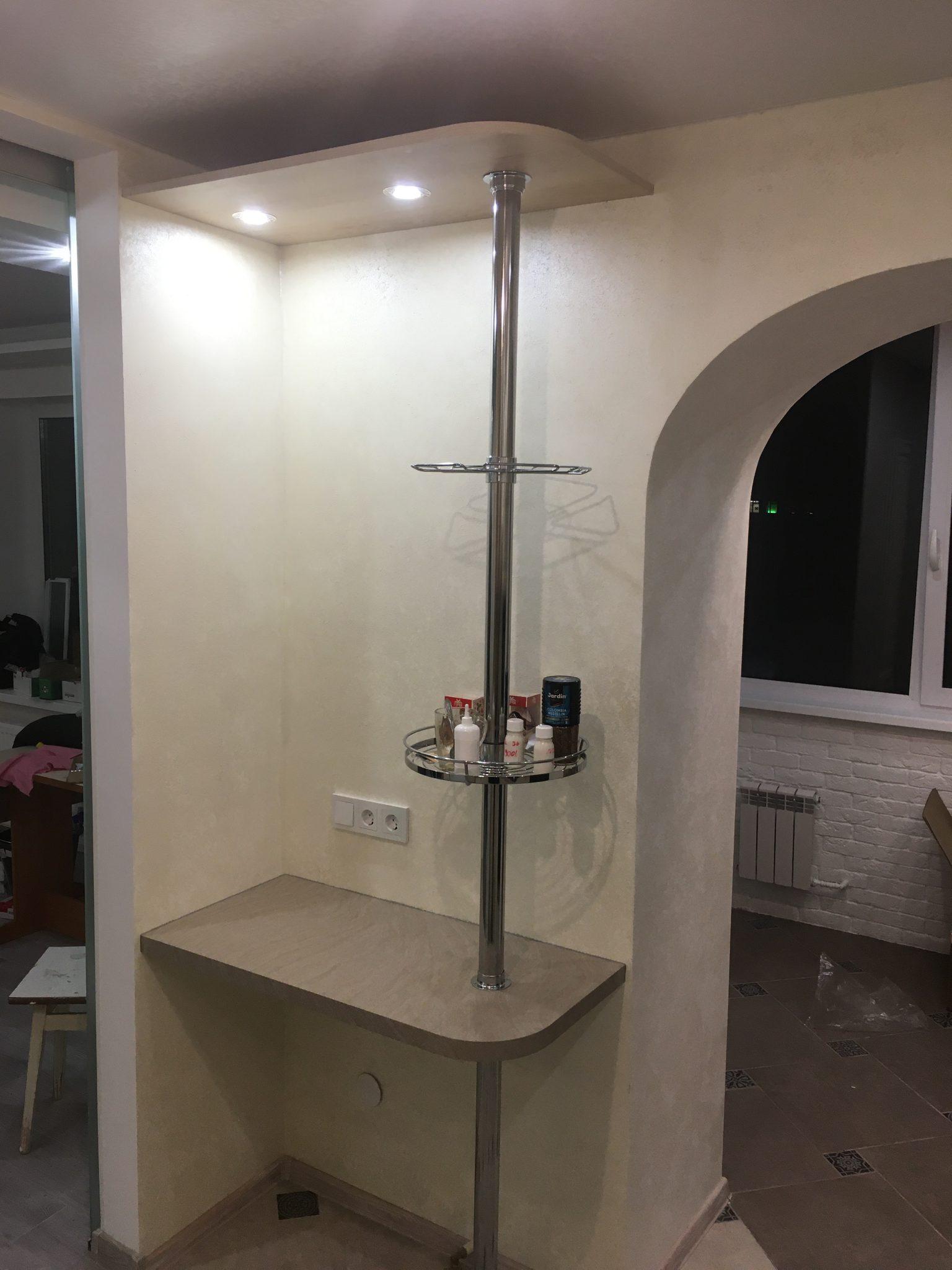 кухня в Гомеле по ул. Свиридова из массива ясеня 71 3